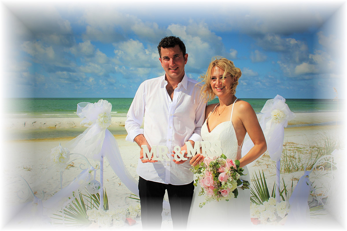 Beach Wedding in Florida