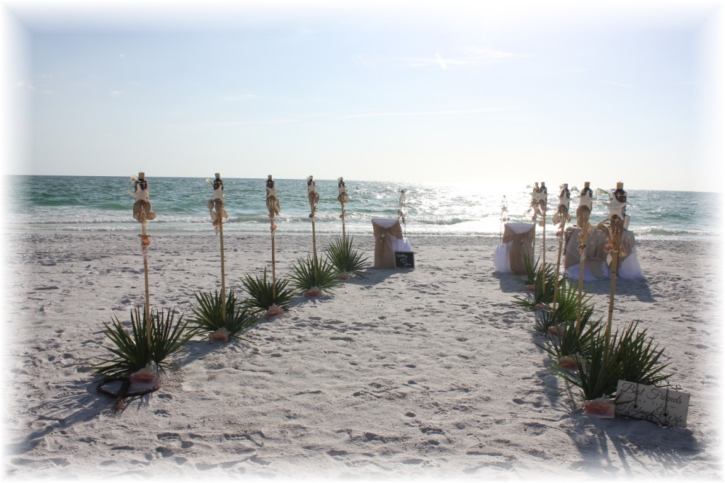 Beach Wedding in Sarasota Florida