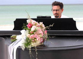 Live Piano for Weddings on the Beach in Sarasota Florida