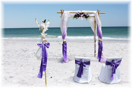 Heiraten in Florida am Strand von Anna Maria Island